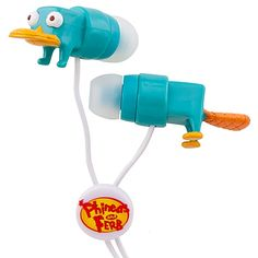 Perry ear buds. Think you put them in and hear DOOBY DOOBY DOO WHA