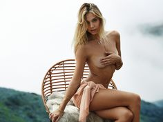 For Lili Claspe's latest lookbook the 20-year-old Alexis Ren flaunts her sexy body in front photographer Trever Hoehnes' lense. She...