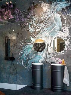 wall and deco wet tapete mystical dream