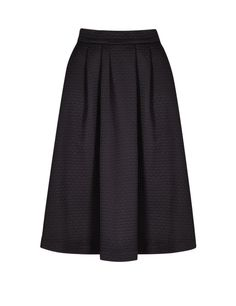 Textured Pleated A-Line Skirt | M&S