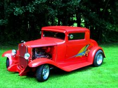 '31 Chevy all steel. Rare 3 window coupe with 1974 355 LTI Corvette engine. Motor has been blue printed and balanced. Has two 650jr holly's on top of high rise manifold. Mustang-11 with power rack. power windows,doors and brakes.
