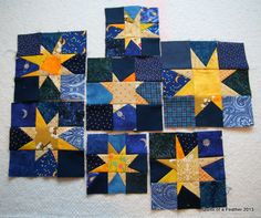 Quilts of a Feather: Seeing Stars