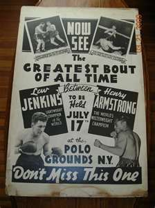 Vintage Boxing Fight Posters