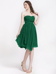 Multi-wear Chiffon Bridesmaid Dress   Plus and Petite sizes available! Hundreds of styles, tons of colors!