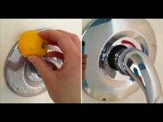 ⭐️❤️15 truques incríveis com o limão para facilitar as tarefas do seu dia a dia! - YouTube