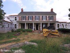 Farmhouse Renovation ~  #BethesdaStyle Farmhouse Renovation, City Living, Coastal Homes, Maryland, Beach House, Minimalism, Cabin, Mansions, House Styles