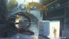 ArtStation - BRINK - Reactor - Ventilation Shafts, Georgi Simeonov