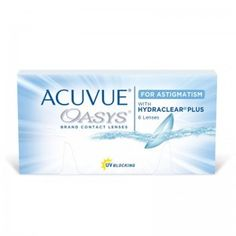 Acuvue Oasys for Astigmatism weich 6 Stück / BC mm / DIA