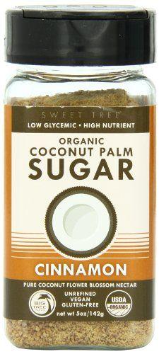 Big Tree Farms Coconut Palm Sugar Shaker ,Cinnamon, 5 Ounce - http://spicegrinder.biz/big-tree-farms-coconut-palm-sugar-shaker-cinnamon-5-ounce/