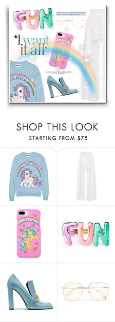 """""""cut"""" by jasmimbonlevour ❤ liked on Polyvore featuring Moschino, Three Graces, Kate Spade, Mulberry and Chloé"""