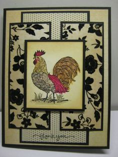 Love that Rooster - Kim A by andeki - Cards and Paper Crafts at Splitcoaststampers