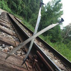 Chemin de fer Spike épée