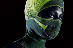 A team of researchers at the Nottingham Trent University have developed a smart balaclava which warms oxygen before it's inhaled to reduce the risk of athletes contracting chest infections when exercising in the cold. Chest Infection, Smart Textiles, Hats For Sale, Fashion Articles, Balaclava, Cold Weather, Images, The Incredibles, Photo And Video
