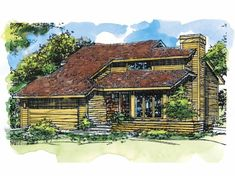 Eplans Shed House Plan - Two Bedroom Shed - 1296 Square Feet and 2 Bedrooms from Eplans - House Plan Code HWEPL61926