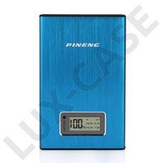 Pineng (Blå) 11200mAh Dual USB Power Bank till Smartphones