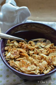 Gluten Free Granola with Walnuts, Coconut and Pumpkin Seeds!