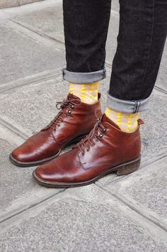 Sock can add a stylish and fun pop of color to any outfit.