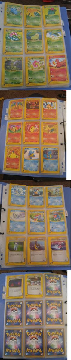 Pok mon Complete Sets 104046: Japanese Pokemon Card E-Series 1St Ed. Starter Deck Complete 29 Card Set Mint -> BUY IT NOW ONLY: $75 on eBay!