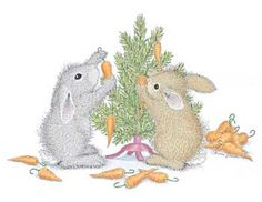 "I've always wanted to do this as my Christmas card!  ""Carrot Tree"" from House-Mouse Designs®"