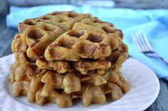 sweet plantain waffles
