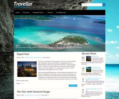 12 Free Travel WordPress Themes