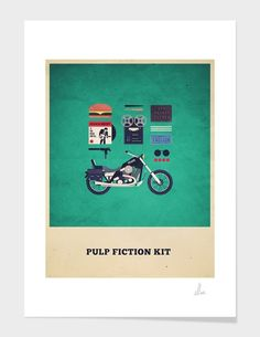 """Pulp Fiction Kit"" - Limited Edition Print by Alizée Lafon for Curioos"