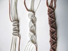 This is one of a most decorative knot seen in waxed cord macrame, you must practice and know how to tie it perfectly. Be sure you p...