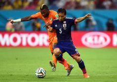 W杯初戦敗戦の日本代表長友「自分たちのサッカーができなかった」 – サッカーキング