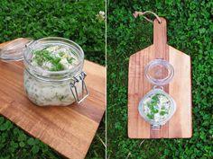 Vegansk senapssill på aubergine