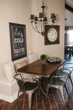 Image result for dining with built in banquette and bar with stools