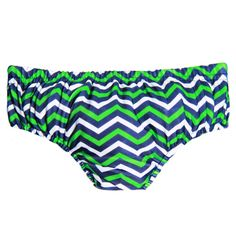 The green chevvy reusable swim nappy by Rashoodz Australia available at  Small to TALL Australian Swimwear 9914fa7169b3