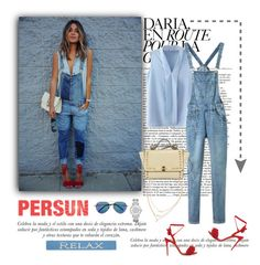 """""""Persun"""" by aurora-australis ❤ liked on Polyvore featuring Sinclair, DutchCrafters, Michael Kors, Matthew Williamson and persunmall"""