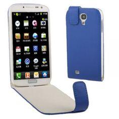 Vertical Leder Flip Case für Samsung Galaxy S4 / i9500 Blau ab 6,59 Euro weitere Farben im Shop