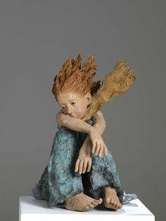 Pottery Sculpture, Sculpture Clay, Sculpture Ideas, Ceramic Figures, Ceramic Art, Art Bizarre, Ceramic Sculpture Figurative, Different Kinds Of Art, Sculptures Céramiques