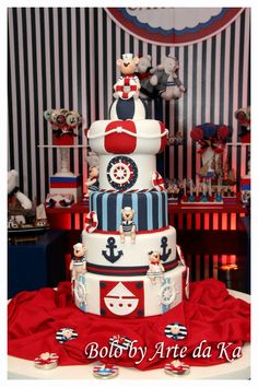 Baby Nautical Theme Party