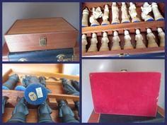 Chess Set Vintage Anri Toriart Italy in от MagellansBellyStudio
