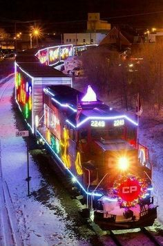 CPs Holiday Train