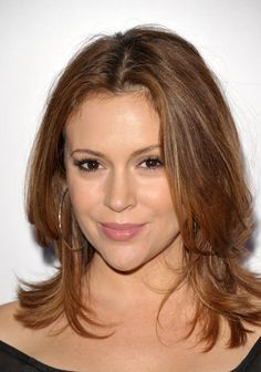 The shiny Alyssa Milano...  Trendy Fashion...   She is best known for portraying Phoebe Halliwell on The WB television series Charmed (1998�2006)
