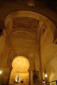 Santiago de Peñalba. Vista interior.