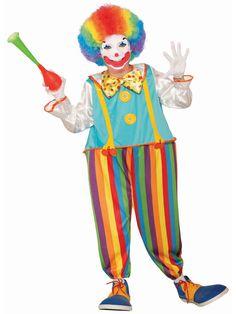 Men/'s Clown Hat Spotty Joker Peak Circus Halloween Fancy Dress Hat Accessories