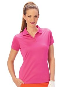 0aa35ceaa45 Nancy Lopez Golf  Ladies Short Sleeve Polo - Luster