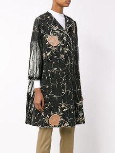 By Walid Vintage Silk Coat