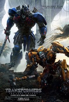 awesome New Transformers: The Last Knight poster shows off Optimus and Bumblebee