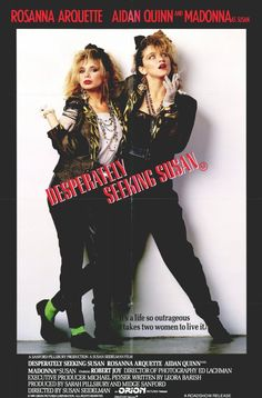 "Desperately Seeking Susan (1985) - ""Desperately seeking Susan. Meet me, four o'clock, Battery Park. Keep the faith. Love, Jim."""