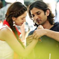 Kaun Tujhe Female- M.S Dhoni The Untold Story recorded by on Smule. Sing with lyrics to your favorite karaoke songs. Love Couple Photo, Couple Picture Poses, Couple Photoshoot Poses, Cute Love Couple, Couple Pictures, Bollywood Couples, Bollywood Actors, Bollywood Celebrities, Movie Pic
