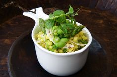English Garden and Giant Pearled Couscous Salad - the British Larder