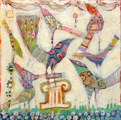 Gretchen Weller Howard is one of my favorite contemporary artists.  Her work takes me back to New Orleans.