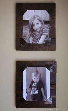 Diy Rustic Pallet Frames