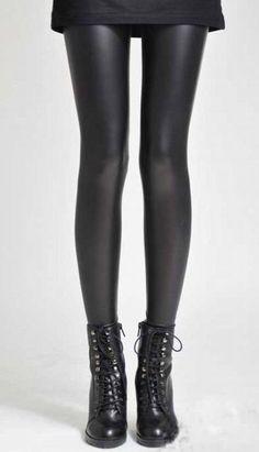 Legging preta brilhosa - Miss Dreamy Store