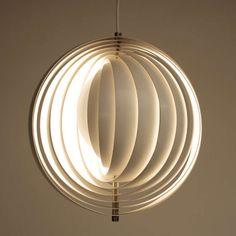 Original Moon Pendant Lamp by Verner Panton